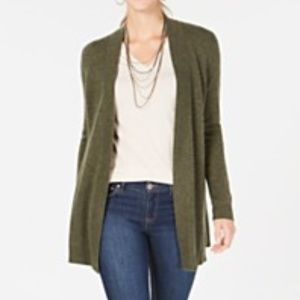 Charter Club Pure Cashmere Duster Cardigan NWOT